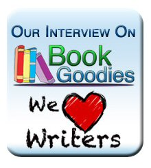 our interview on Book Goodies banner